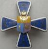 Знак 7-го уланского Ольвиопольского Его Величества Короля Испанского Альфонса XIII полка. Утвержден 29.11.1911