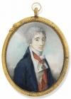 Граф Никита Петрович Панин с орденом Святой Анны I кл. Шарль-Жозеф де Ласель. 1799 г.