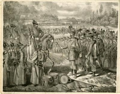 Сдача Венгерских войск Русским войскам. 1849 г. Альбрехт