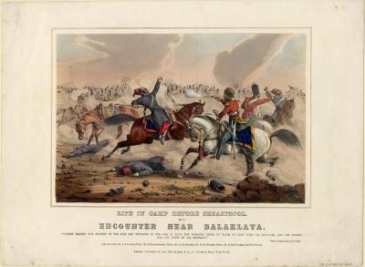Эпизод Балаклавской битвы 5 августа 1855 г. -