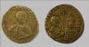 Золотая монета византийского императора Никифора II Фоки (963-969). Темрюкский район Краснодарского края, находка 2019 года.