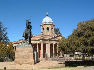 Мемориал Христиана Рудольфа Девет. Bloemfontein. ЮАР