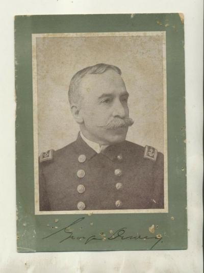 Девью (Девей, Дьюи, Dewey, George), адмирал Северо-Американских Свободных Штатов (США)