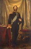 Портрет Христиана IX, короля Дании. Блок, Карл Генрих. 1834-1890. Дания, 1866 г. Холст, масло, 218x145 см. ГЭ