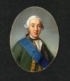 Портрет императора Петра III. Беннер, Жан-Анри. 1776-1836. Франция, после 1817 г. Из альбома Одиннадцать портретов из