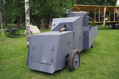 Бронеавтомобиль «Маннесманн-Мулаг». Фото: Andreykor / CC BY-SA