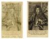 Головин Федор Алексеевич (1650-1706). Конец XVII в. Бумага, гравюра резцом. 15,9х9,5 см. ГИМ