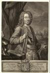Ласси Петр Петрович (1666-1751). Хейд И.И. XVIII в. Бумага, черная манера, 44,6х30,3 см. ГИМ