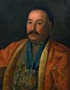 Портрет атамана Федора Ивановича Краснощекова. 1761